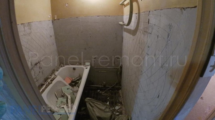 04. Ремонт ванной - До
