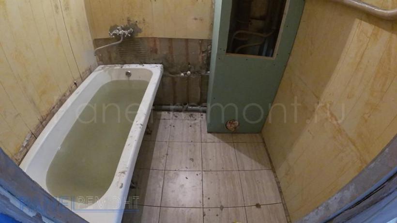 06. Ремонт ванной - До