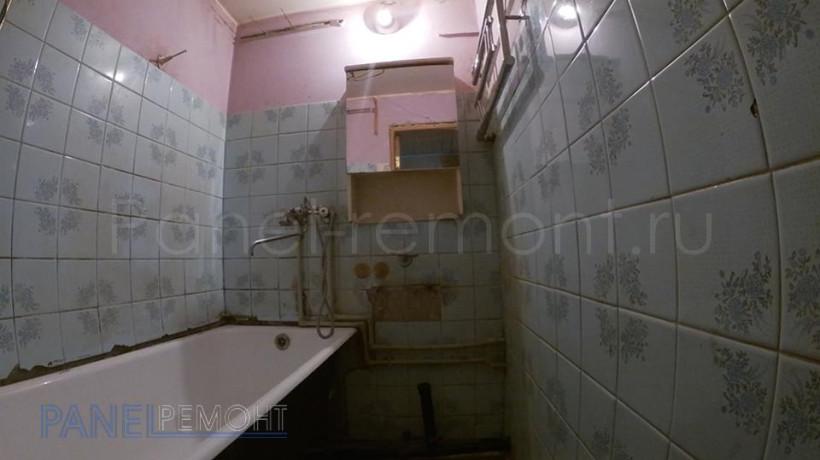 14. Ремонт ванной - До
