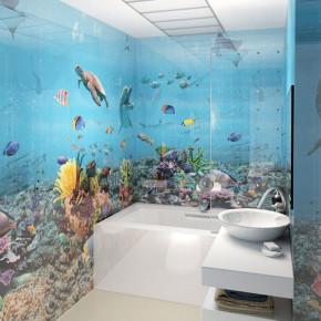 ПВХ-панель - Подводный мир